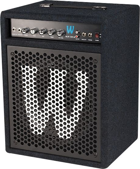 W Rock Amps WCBLUECAB60.1UK230 - Blue Cab 60.1 Combo 12 60Watt 230V