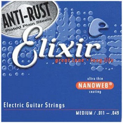 Elixir Electric Nanoweb 12102 Medium 011-049